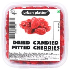 Urban Platter Dried Candied Pitted Cherries, 400g Tray