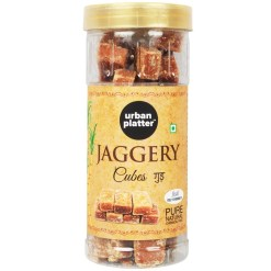 Urban Platter Jaggery Cubes, 500g [Pure, Natural, No Preservatives Added]