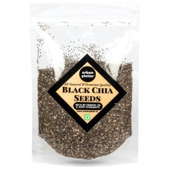 Urban Platter Black Chia Seeds, 400g [Rich in Antioxidants & Omega-3 Fatty Acids]