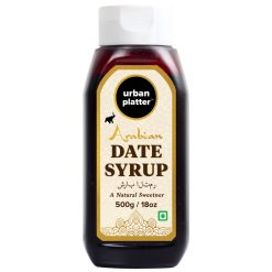 Urban Platter Arabian Date Syrup, 500g / 18oz [All Naturall Sweetener & Vegan]