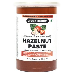 Urban Platter Pure Turkish Hazelnut Paste, 500g