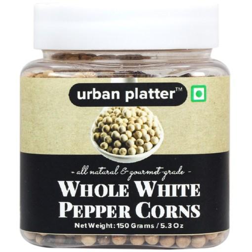 Urban Platter Whole White Pepper corns, 150g