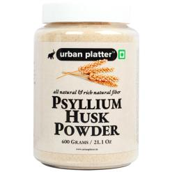 Urban Platter Psyllium Husk Powder (Isabgol Atta), 600g / 21.1oz [All Natural, High-fiber & Easily Soluble]