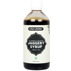 Urban Platter Jaggery Syrup, 500ml [All Natural & Delicious]