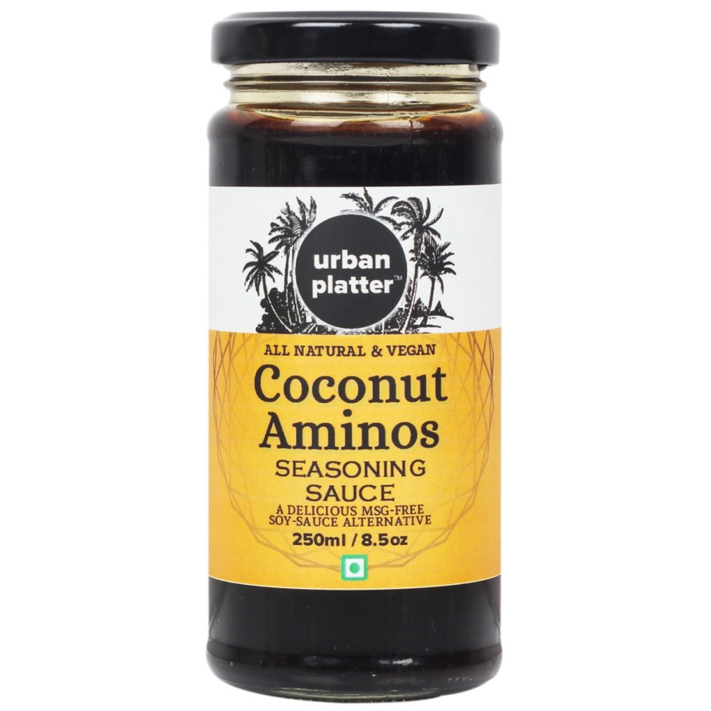 Urban Platter Coconut Aminos, 250ml [All Natural & Vegan, Seasoning Sauce, MSG Free, Soy-Sauce Alternative]