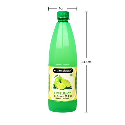 Urban Platter Lime Juice Concentrate, 700ml [Equivalent of 70 Green Limes!]