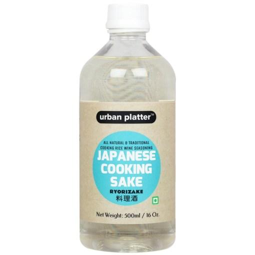 Urban Platter Japanese Cooking Sake (Ryorizake), 500ml [All-natural and Traditional Cooking Rice Wine Seasoning]
