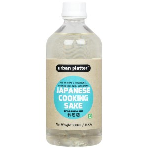 Urban Platter Japanese Cooking Sake (Ryorizake), 500ml [All-natural and Traditional Cooking Rice Wine Seasoning]