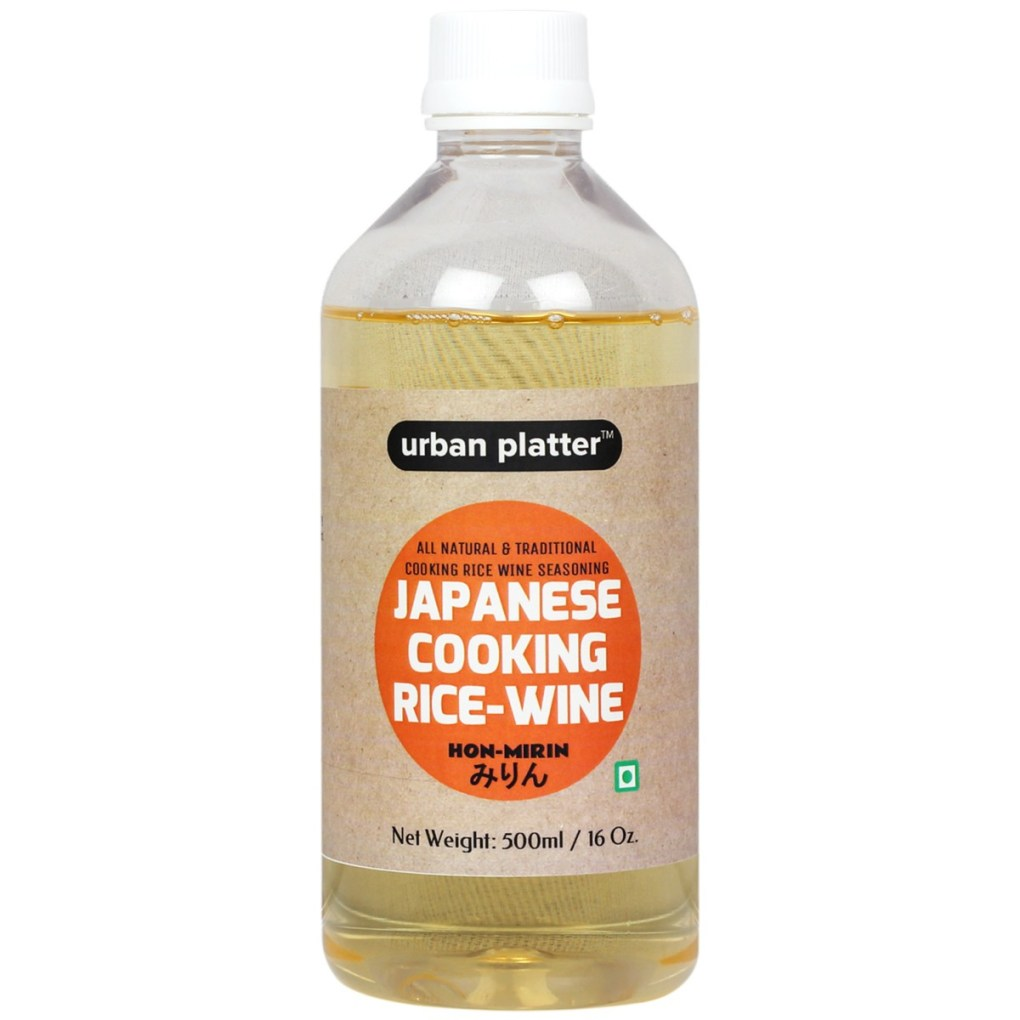Urban Platter Japanese Cooking Rice-Wine (Hon-Mirin), 500ml [All Natural and Traditional Cooking Rice Wine Seasoning]