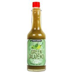 Urban Platter Green Jalapeno Sauce, 57ml [Tangy Hot Sauce]
