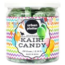 Urban Platter Kachhi Kairi (Raw Mango) Candy, 350g [Vintage-style Boiled Sugar Confectionery]