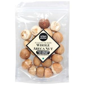 Urban Platter Whole Areca Nut (Supari or Betel Nut), 200g