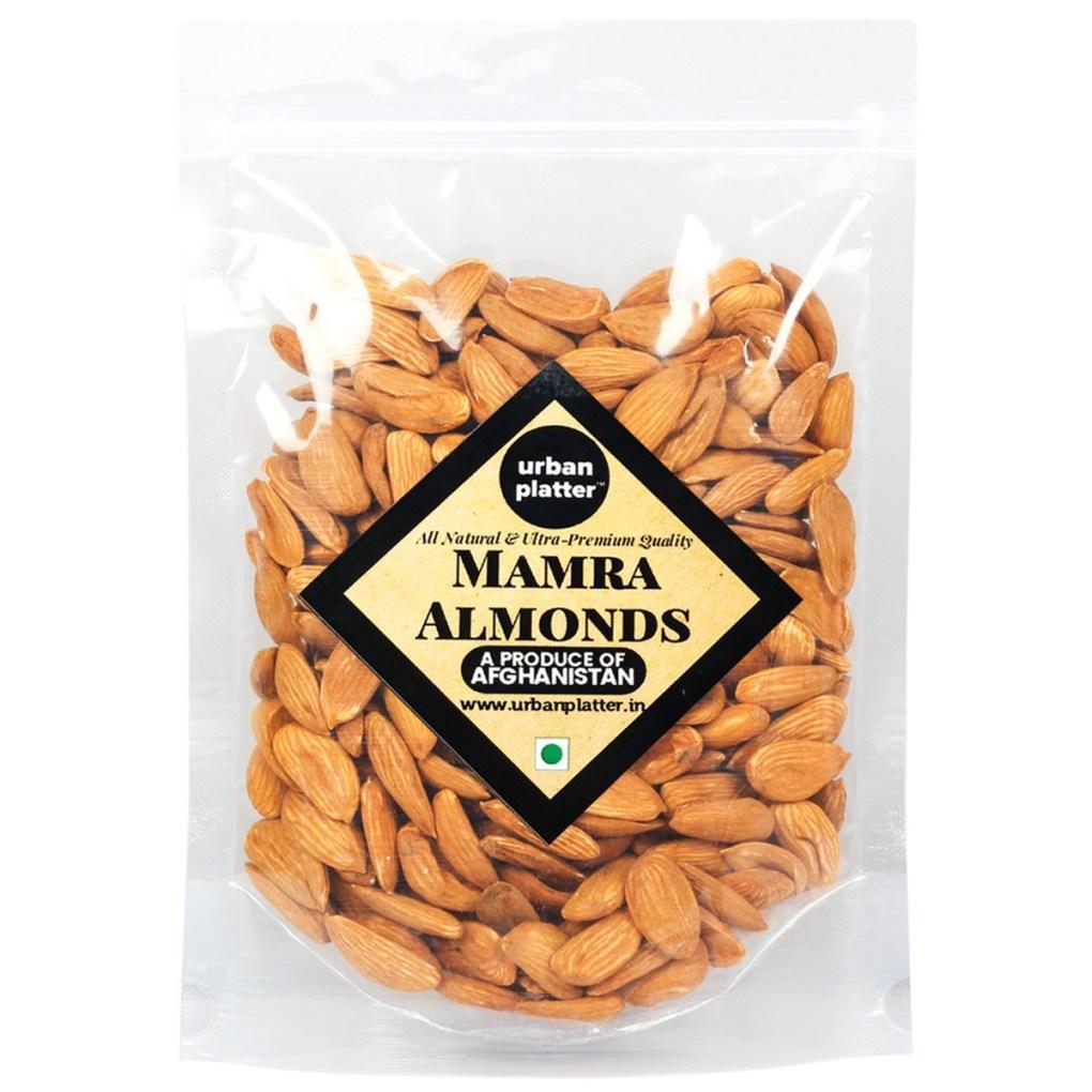 Urban Platter Bold Mamra Almonds, 1Kg