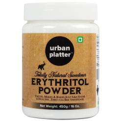 Urban Platter Pure Erythritol Powder, 450g (All Natural, Zero GI, Zero Calorie Sweetener)