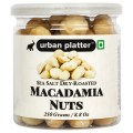 Urban Platter Sea Salt Dry-Roasted Macadamia Nuts, 250g