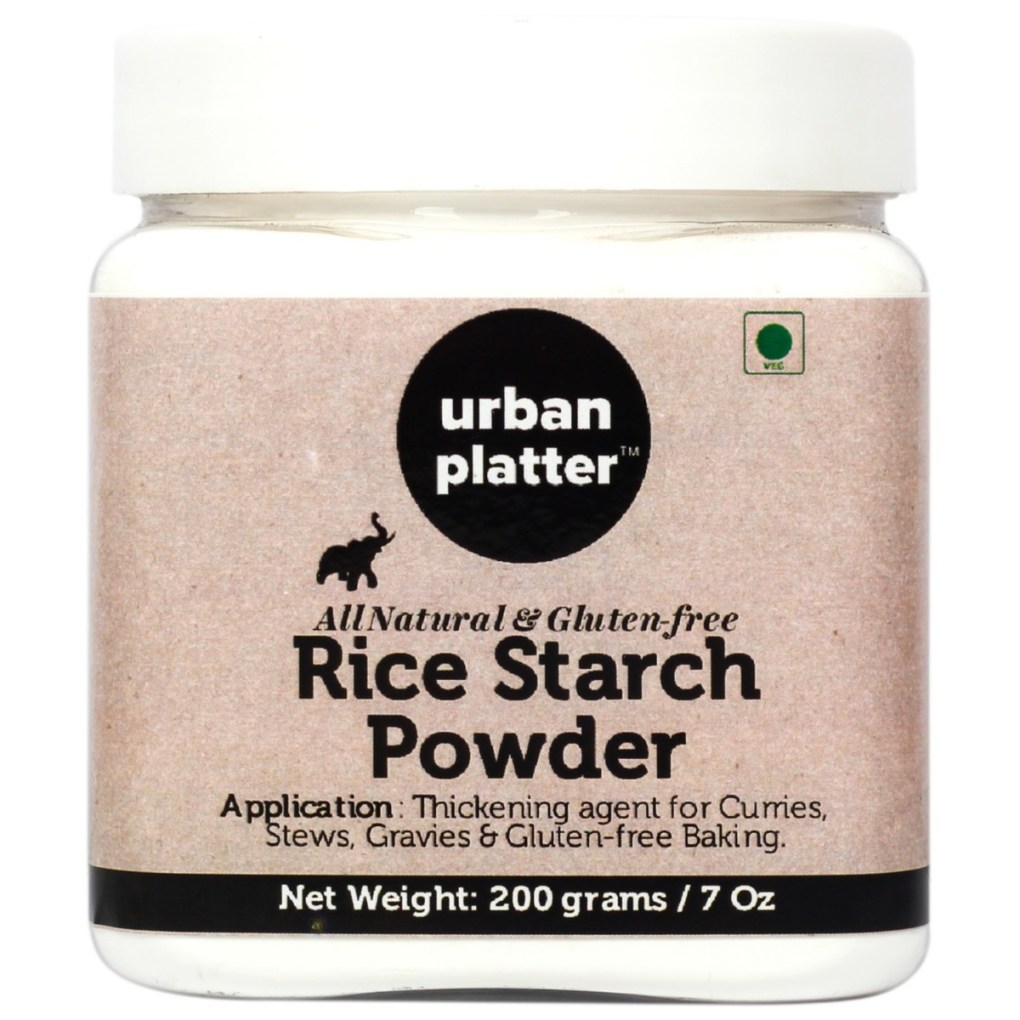 Urban Platter Rice Starch Powder, 200g/7oz [All Natural and Gluten Free]