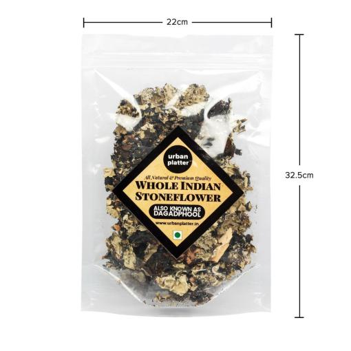 Urban Platter Indian Stone Flower Spice (Dagad Phool / Kalpasi), 100g