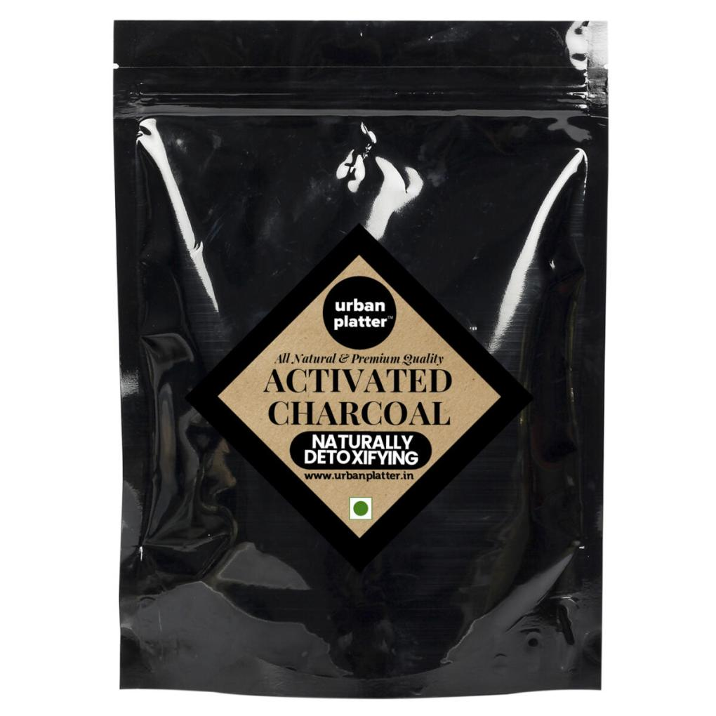 Urban Platter Activated Coconut Carbon Powder, 1Kg [HoReCa Pack]