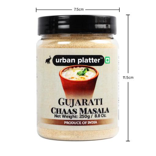 Urban Platter Gujarati Chaas (Buttermilk) Masala, 250g / 8.8oz [Macro-Nutrient, Digestive]