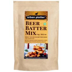 Urban Platter Beer Batter Mix, 1Kg / 35.2oz [Perfect Texture For Deep Fried DIshes]