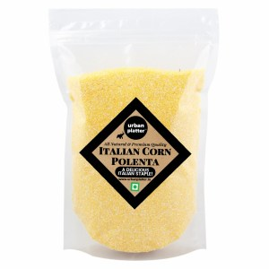 Urban Platter Corn Polenta, 1Kg / 35.2oz [All Natural, Premium Quality, High Fiber]