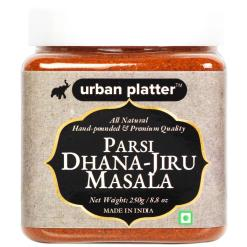 Urban Platter Parsi Dhana-Jiru Masala, 250g / 8oz [All Natural, Premium Quality, Hand-Pounded All Purpose Spice Blend]