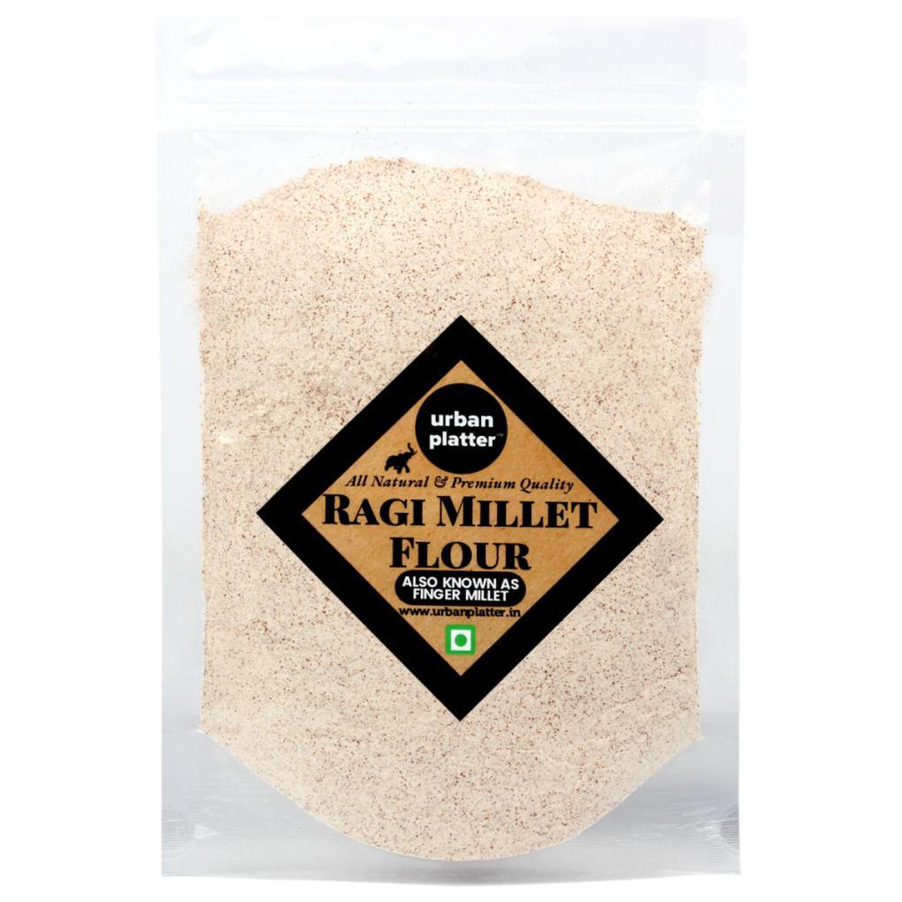 Urban Platter Ragi Flour (Nachani), 1Kg / 35.2oz [All Natural, Gluten-free, Calcium-rich]