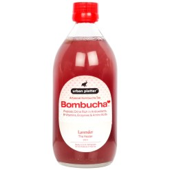 Urban Platter Artisanal Kombucha Tea, Lavender, 500ml [The Healer, Premium Quality, By Bombucha]