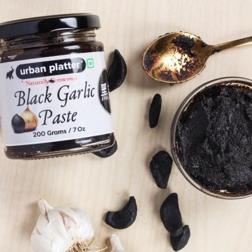 Urban Platter Naturally Fermented Black Garlic Paste, 200g