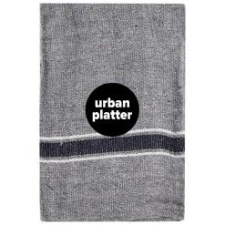 Urban Platter Cleaning Cloth Mop Floor Pocha Dark Color, Pack of 6 [50 x 50 cm]
