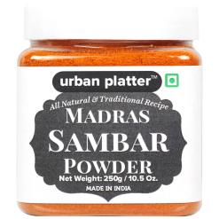 Urban Platter Madras Sambar Powder, 250g [All Natural & Traditional Recipe]