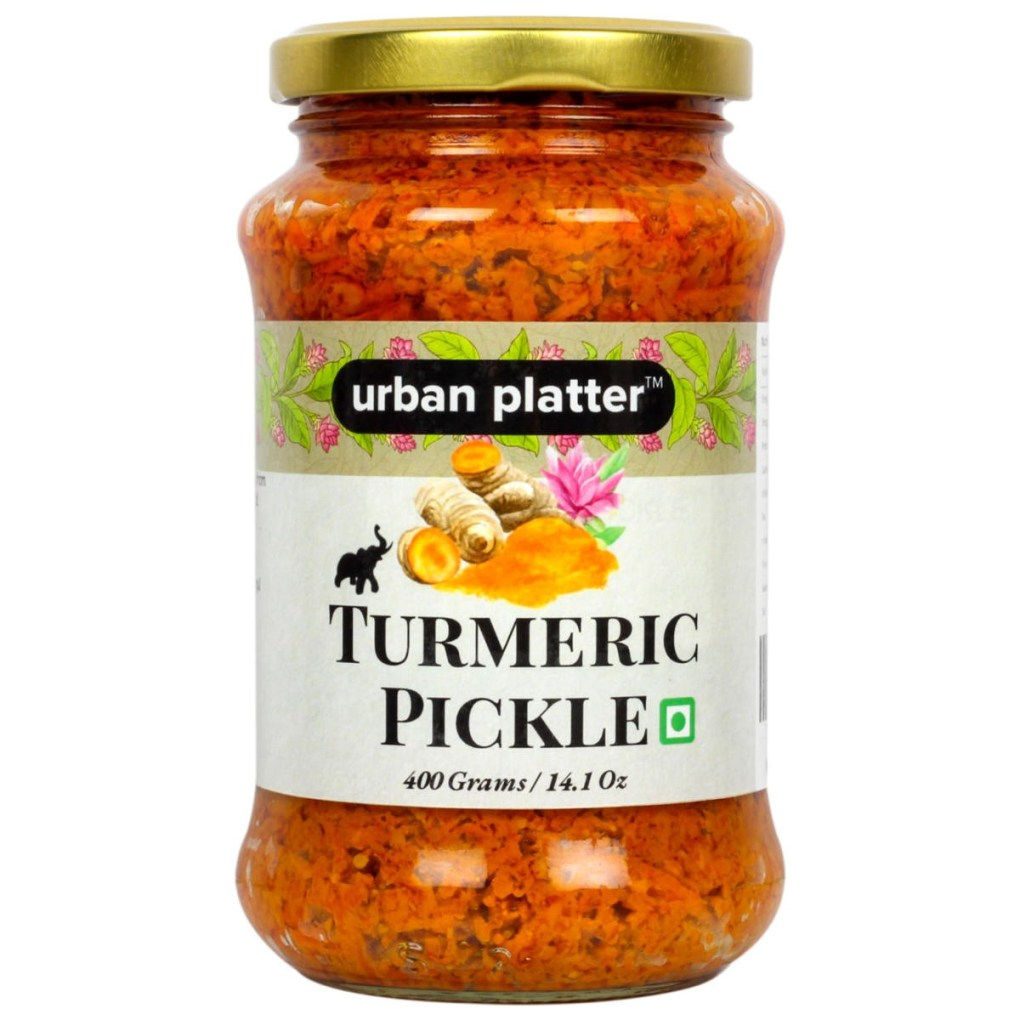 Urban Platter Turmeric (Haldi) Pickle, 400g