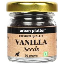 Urban Platter Vanilla Seeds, 20g / 0.7oz [Premium Quality, Gentle Aroma, Perfect Garnish]