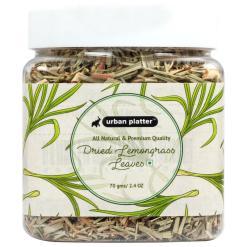 Urban Platter Dreid Lemongrass Leaves, 70g / 2.4oz [All Natural, Premium Quality, Aromatic]