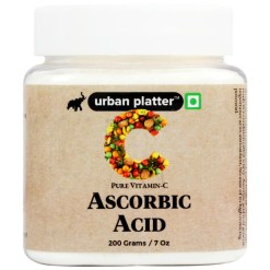 Urban Platter Ascorbic Acid, 200g / 7oz [Pure Vitamin C, Premium Quality, Dietary Supplement, Antioxidants]