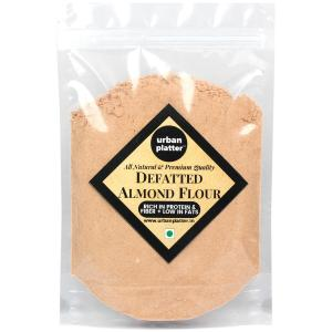 Urban Platter Defatted Almond Flour, 400g (All Natural, High-protein, High-fiber Powder)