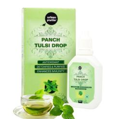 Urban Platter Panch Tulsi Drop, 30ml [Basil Drops, Detox & Immunity Booster]