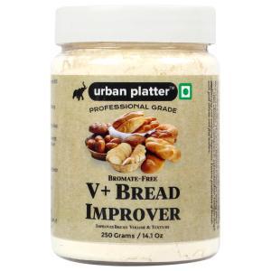 Urban Platter V+ Bread Improver, 250g / 14.1oz [Professional Grade, Improves Volume & Texture, Bromate-Free]