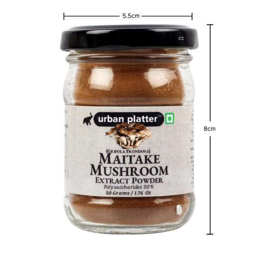 Urban Platter Maitake Mushroom Extract Powder, 50g / 1.76oz [Dancing Mushroom, Grifola Frondosa, Rich in Mineral]