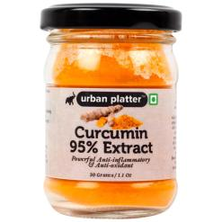Urban Platter Curcumin 95% Extract Powder, 30g / 1.1oz [Powerful Anti-inflammatory & Antioxidants, Detox]