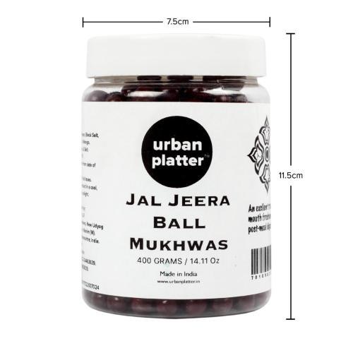 Urban Platter Jal Jeera Ball Mukhwas, 400g / 14.11oz [Mouth Freshener, Digestive, After-Meal Snack]