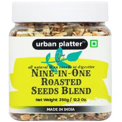 Urban Platter 9-in-1 Roasted Seeds Blend, 350g [All-natural & Lightly Salted]