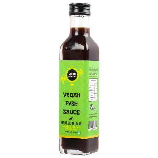 Urban Platter Vegan Fysh Sauce, 250g / 8.8oz [Savoury, Umami, Fish Sauce]