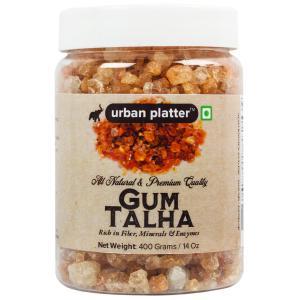Urban Platter Gum Talha (Dink/Gound), 400g / 14oz [Rich in Fiber, Mineral & Enzymes]