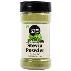 Urban Platter Stevia Leaf Powder Shaker Jar, 70g