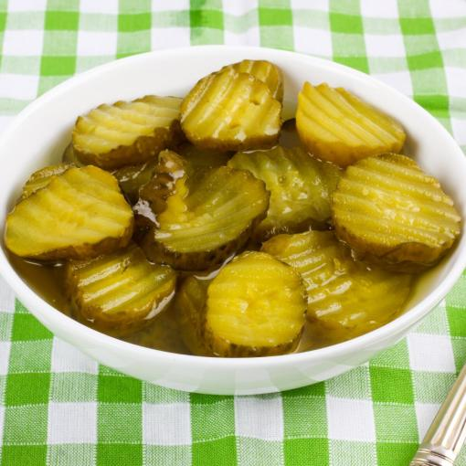 Urban Platter Sliced Gherkins, 670g [Drained Weight 360g, Pickled, Perfect for Burgers]