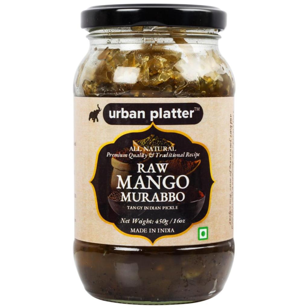 Urban Platter Raw Mango Murabba, 450g