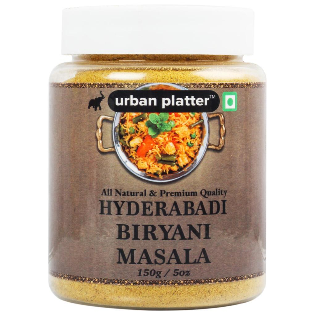 Urban Platter Hyderabadi Biryani Masala, 150g / 5oz [Aromatic, Spicy, Flavourful]