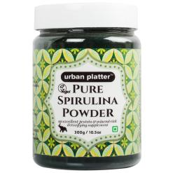 Urban Platter Pure Spirulina Powder, 300g [All-natural and Mineral-rich Detoxifying Supplement]