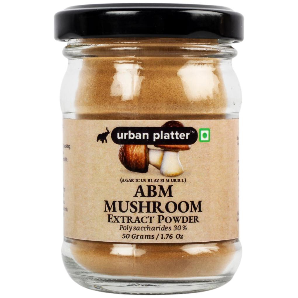 Urban Platter Agaricus Blazei Murill (ABM) Mushroom Extract Powder, 50g